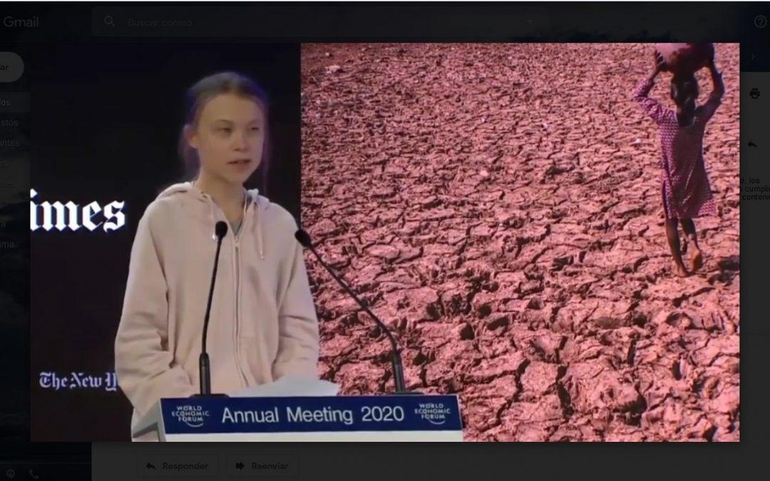 Intervención completa de Greta Thunberg en el Foro de Davos 2020