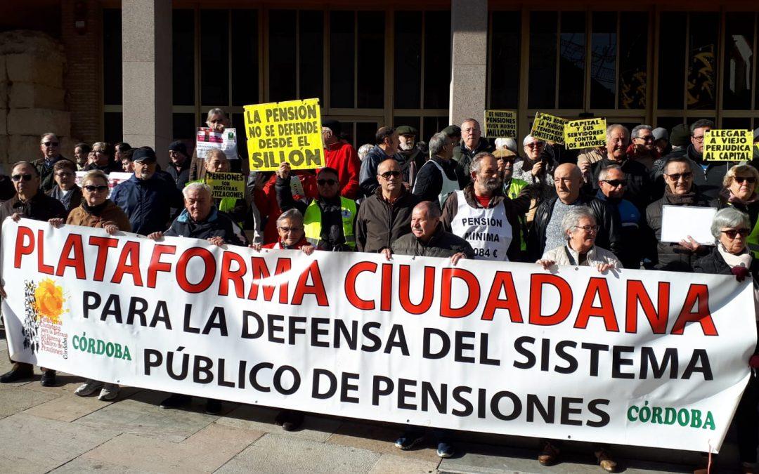 """El colectivo pensionista, al gobierno: """"O se cumple lo prometido o llegará la apatía y la decepción"""""""