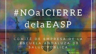 Petición para evitar la extinción y disolución de la Escuela Andaluza de Salud Pública