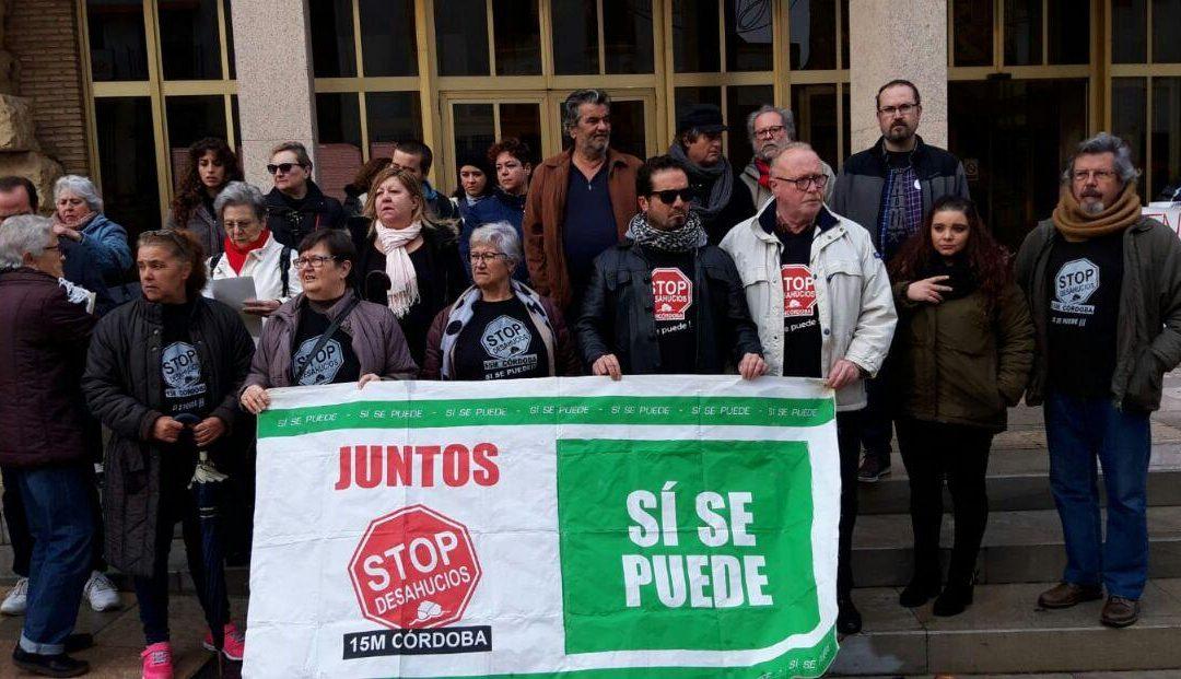 StopDesahucios exige la continuidad de la Oficina de la Vivienda y un plan para afrontar la emergencia habitacional