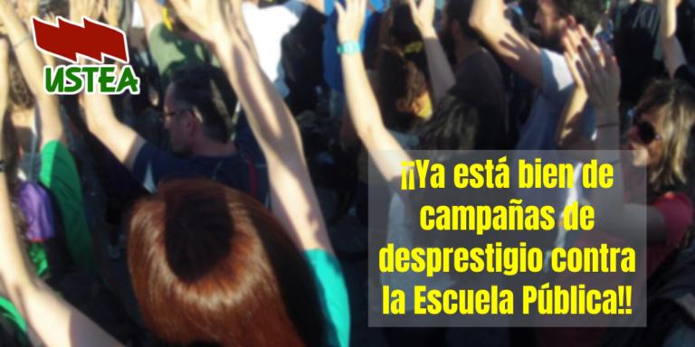 USTEA exige a la Viceconsejera de Educación comunicación urgente a los centros andaluces contra el Veto Parental