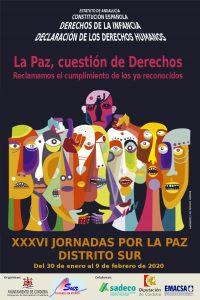 XXXVI Jornadas por la Paz del Distrito Sur @ Distrito Sur
