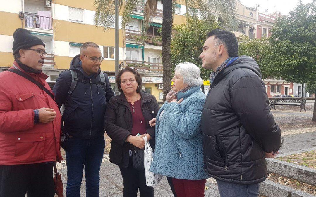 Córdoba en Común denuncia ante el Defensor del Pueblo la expulsión de las personas sin hogar del Colegio Mayor Séneca