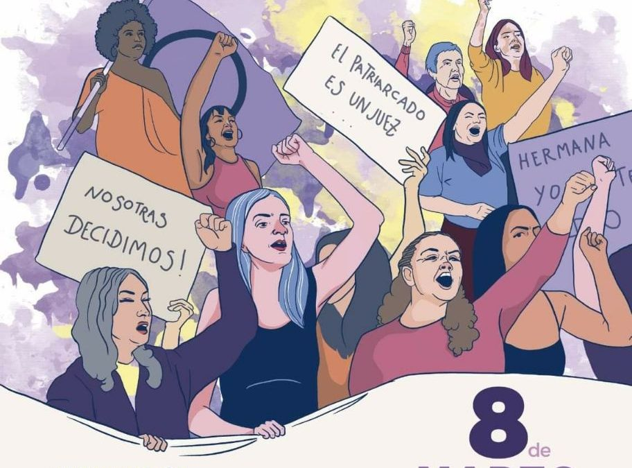 """Manifestación 8 de marzo: """"Ante la barbarie, FEMINISMO"""""""