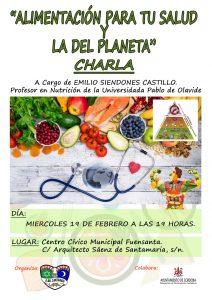 Alimentación para tu salud y la del planeta @ Centro Cívico Fuensanta