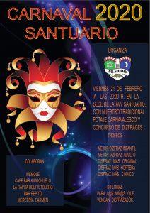 Carnaval 2020 A.V. Santuario @ A.V. Santuario