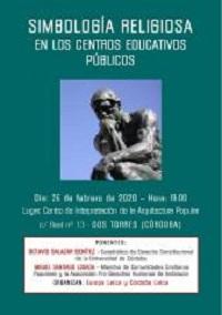 Simbología religiosa en los centros educativos públicos, acto de Córdoba Laica