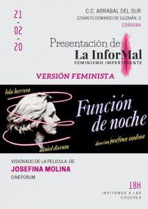 Presentación de La InforMal, feminismo impertinente. @ C.C. Arrabal del Sur