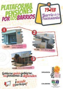 Plataforma Pensiones por los Barrios @ Barriada de la Fuensanta