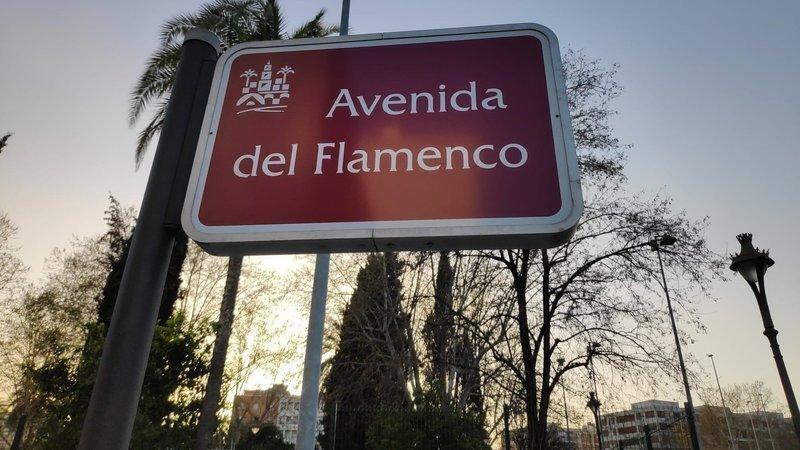 Inician una petición para que la Avenida del Flamenco no pierda su nombre por uno franquista