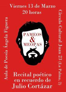 Recital poético en recuerdo de Julio Cortázar @ C.C. Juan 23