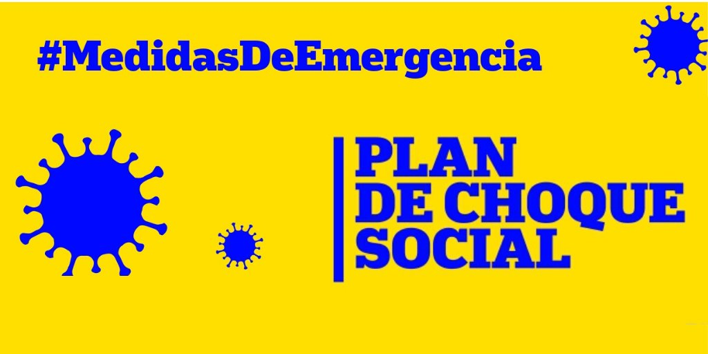 Las organizaciones impulsoras del Plan de Choque Social consideran que las medidas tomadas para hacer frente al impacto del COVID-19 se quedan muy cortas