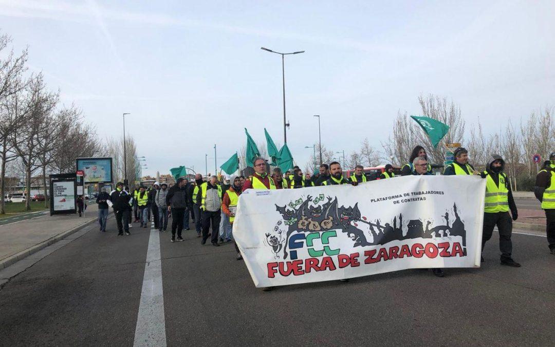 """Las """"bondades"""" de la externalización de servicios en los Ayuntamientos: el caso de FCC en Zaragoza"""