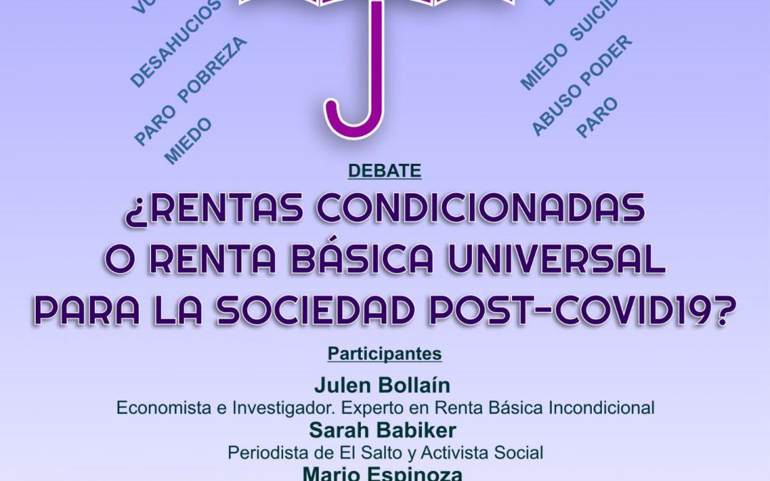 Paradigma Media Andalucía, en colaboración con El Salto Diario Andalucía, organizan un debate sobre la Renta Básica