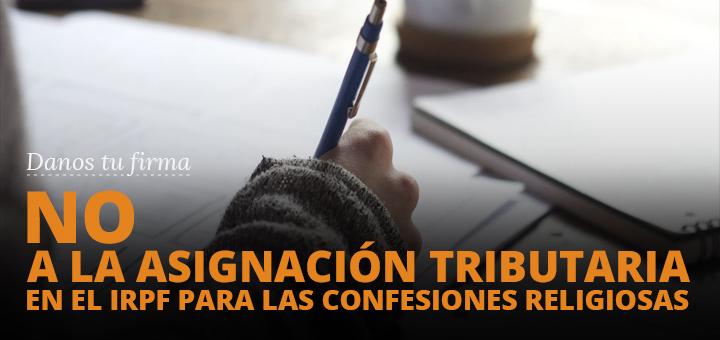 El gobierno colabora en que se marque a la Iglesia en la casilla del IRPF. Juanjo Picó, Junta Directiva de Europa Laica