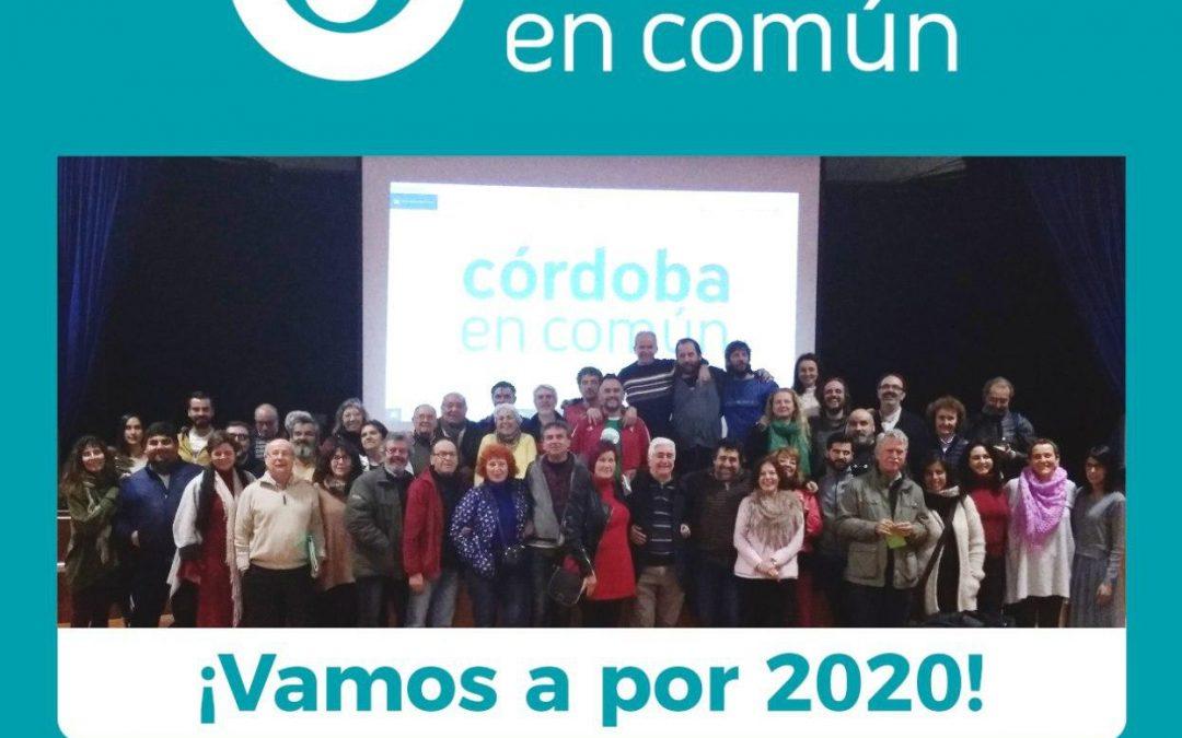 Córdoba en Común exige una ¡Renta municipal ya!