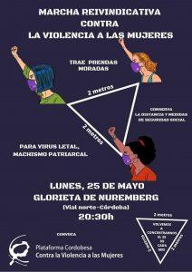 Marcha reivindicativa contra la violencia a las mujeres @ Glorieta de Núremberg
