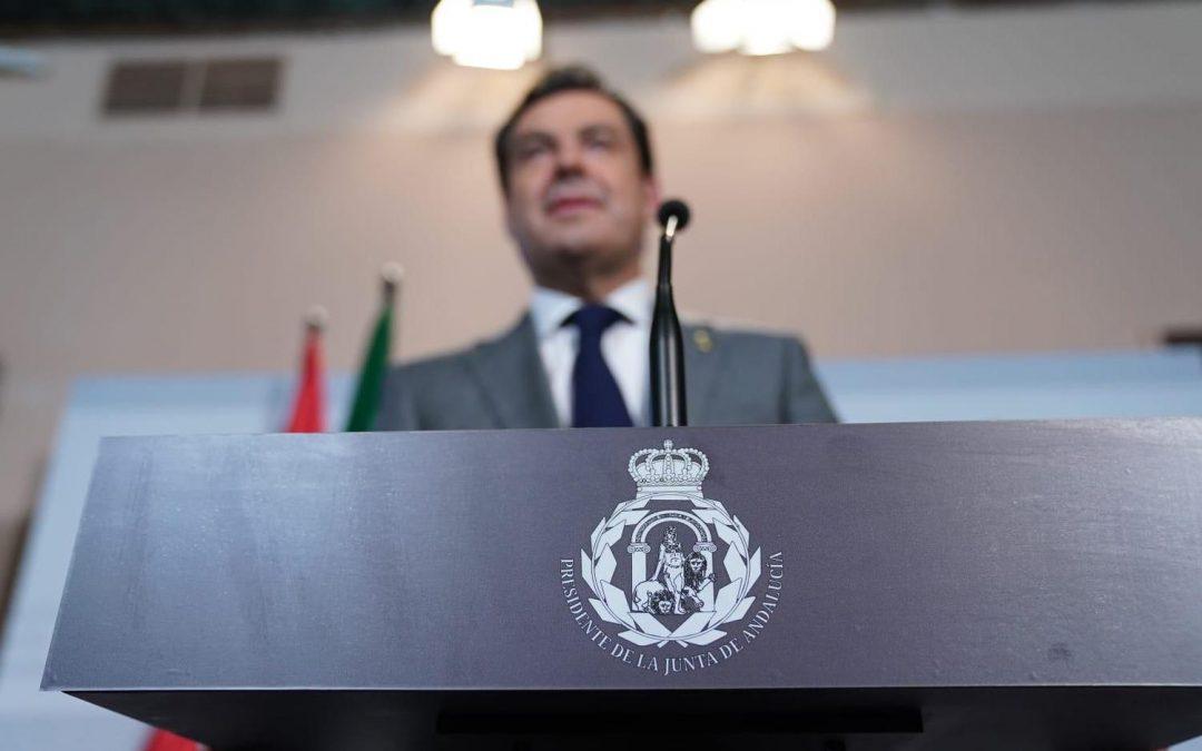 El Defensor del Pueblo Andaluz afirma que no se puede crear un escudo para la Presidencia de la Junta sin respaldo legal