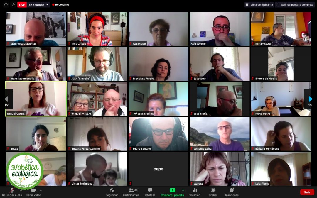 Subbética Ecológica renueva Junta Directiva en una Asamblea General Virtual