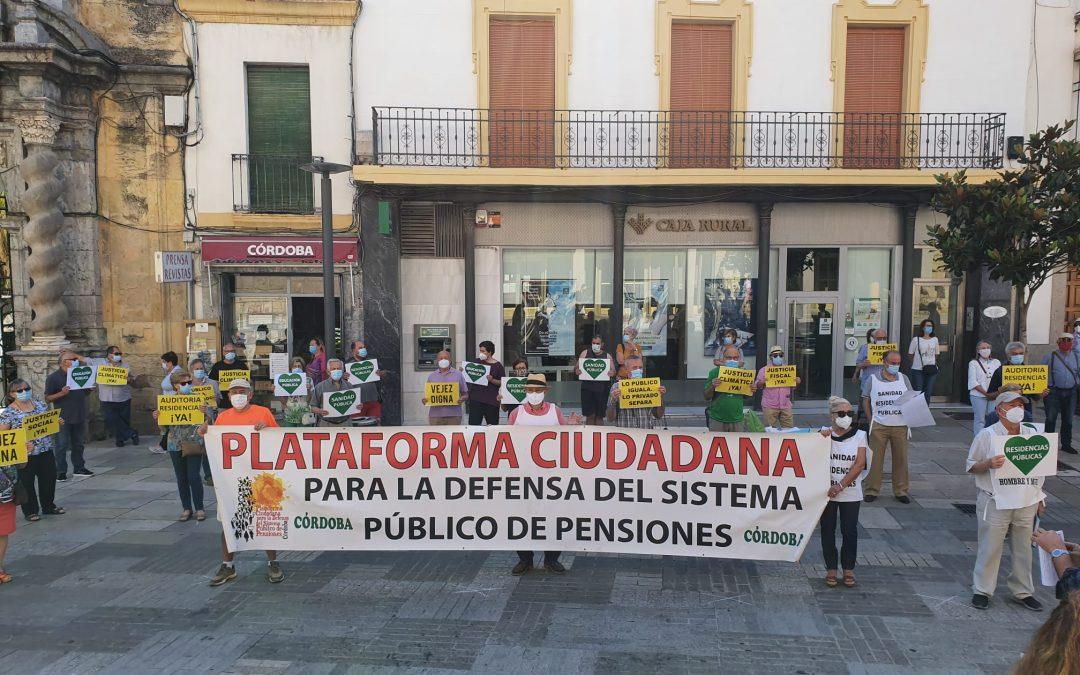 La Plataforma de Pensionistas y el Distrito Sur se movilizan por la Sanidad Pública