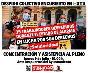 Contra los despidos de Suministros Técnicos del Sur @ Ayuntamiento de Córdoba