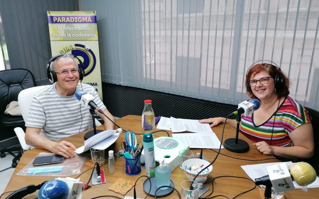 """""""Los Domingos de Paradigma"""". Segundo programa de la segunda temporada. Con José Manuel Matencio y María del Mar Ramos"""