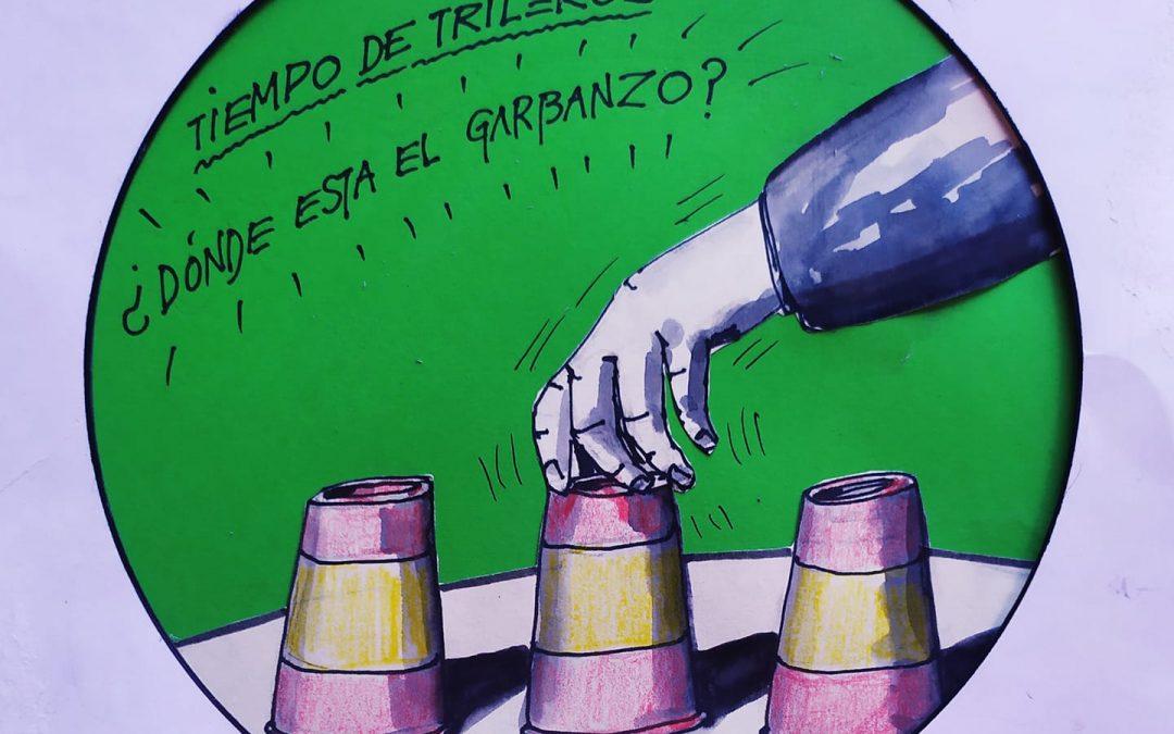 """La viñeta de Goval: """"Tiempo de trileros"""""""