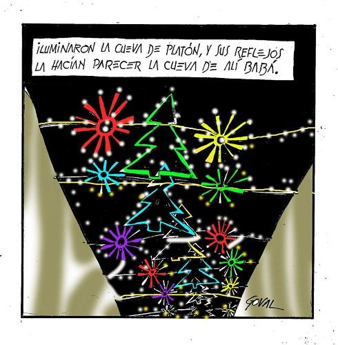 Ecologistas en Acción se opone al gasto de 366.000€ en ampliar el alumbrado navideño en Cruz Conde, antes C/Foro Romano.