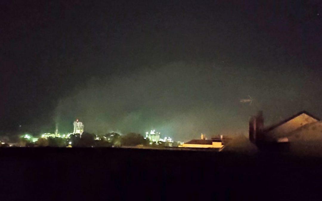 La Plataforma Córdoba Aire Limpio, desagradablemente sorprendida por la inhibición de la Junta ante la contaminación nocturna de COSMOS.