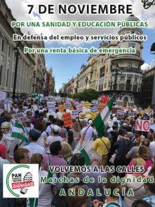 Las Marchas de la Dignidad vuelven a las calles en toda Andalucía @ Andalucía