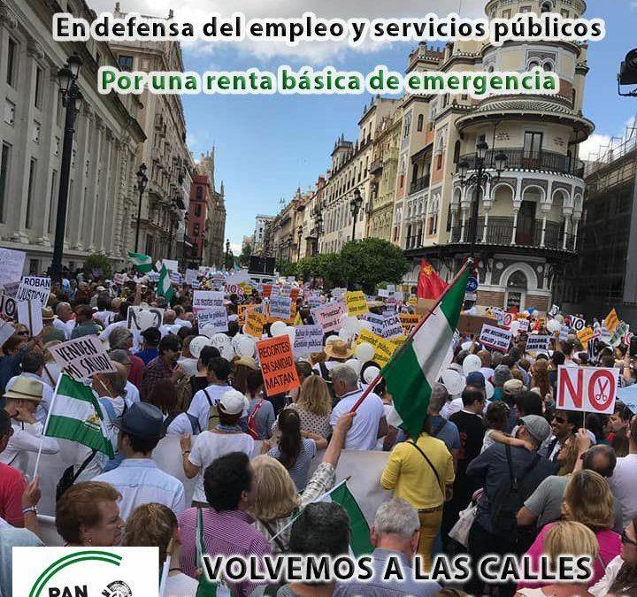Las Marchas de la Dignidad vuelven a las calles en toda Andalucía