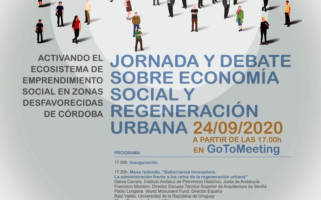 PAX-Patios organiza una Jornada sobre economía social y regeneración urbana