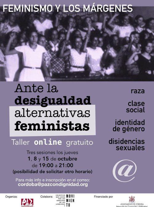 """Paz con Dignidad organiza un taller """"online"""" gratuito sobre Alternativas Feministas"""