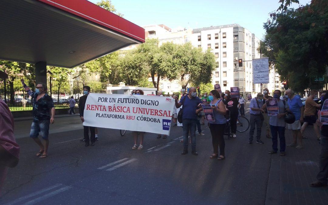 La Plataforma por la Renta Básica Universal e Incondicional de Córdoba apoya la movilización feminista del 25N