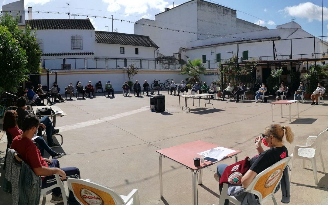 Los colectivos sociales cordobeses se reúnen para relanzar la movilización desde las Marchas de la Dignidad