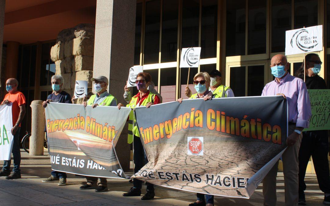 Rebelión por el Clima reivindica el cumplimiento de la Declaración de Emergencia Climática que se aprobó por unanimidad