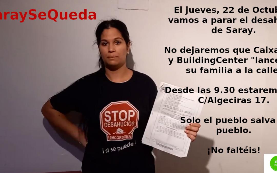 StopDesahucios Córdoba se prepara para evitar un nuevo desahucio
