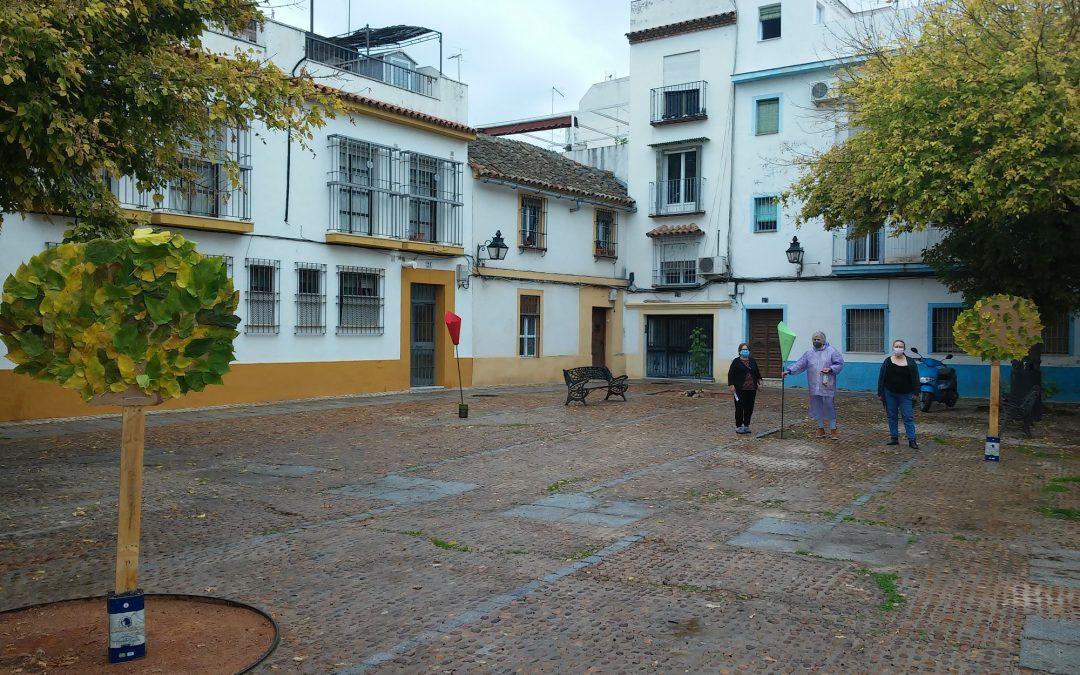 Asociaciones Vecinales reivindican el sombreado y arbolado en San Eloy y Cine Andalucía.