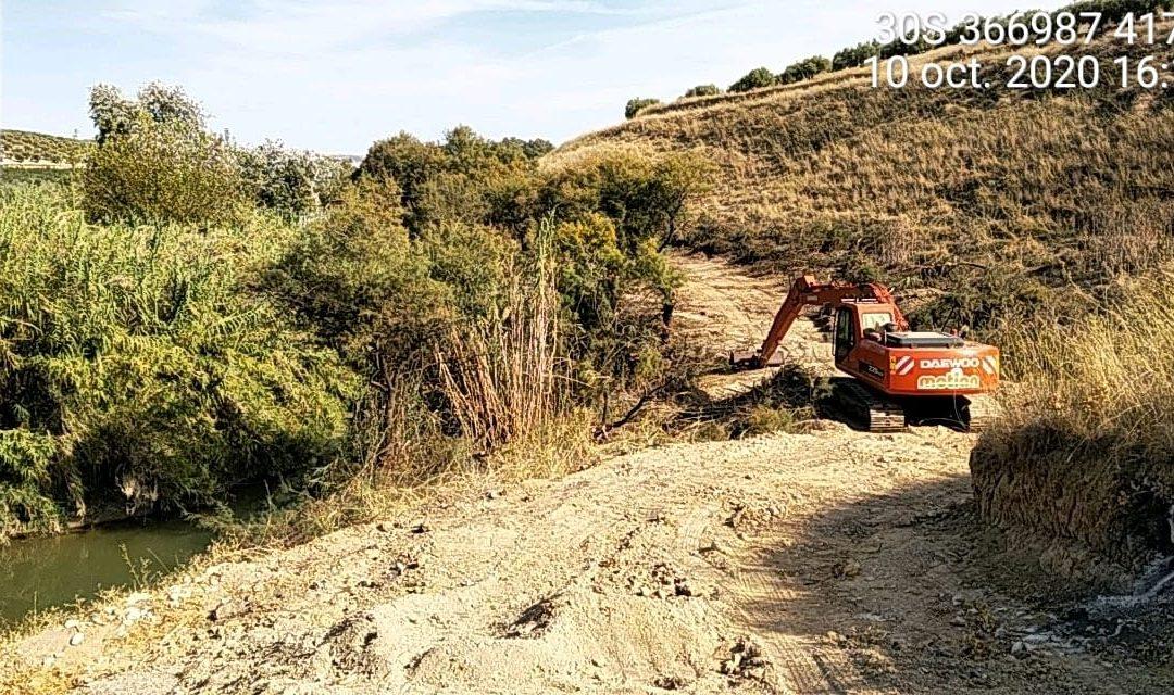 Ecologistas en Acción denuncia que la Confederación Hidrográfica del Guadalquivir destruye el Río Guadajoz