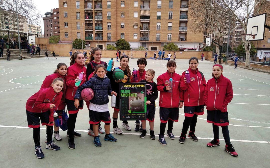 La Federación Andaluza de Baloncesto premia al CBE Ciudad de Córdoba por su campaña en favor del medio ambiente