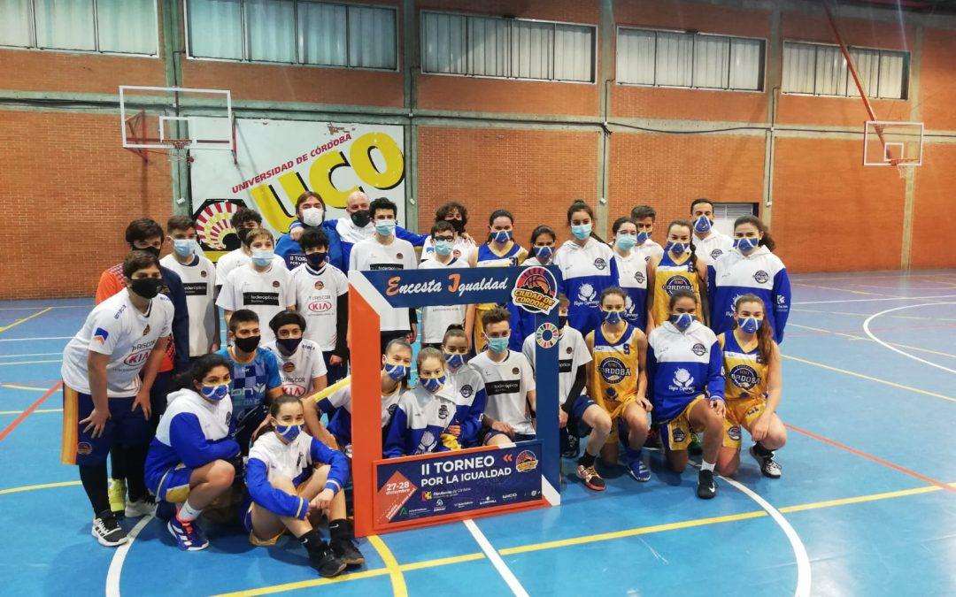 """CBE Ciudad de Córdoba distinguido con el Premio """"Córdoba en Igualdad 2021"""" en el ámbito social y deportivo"""