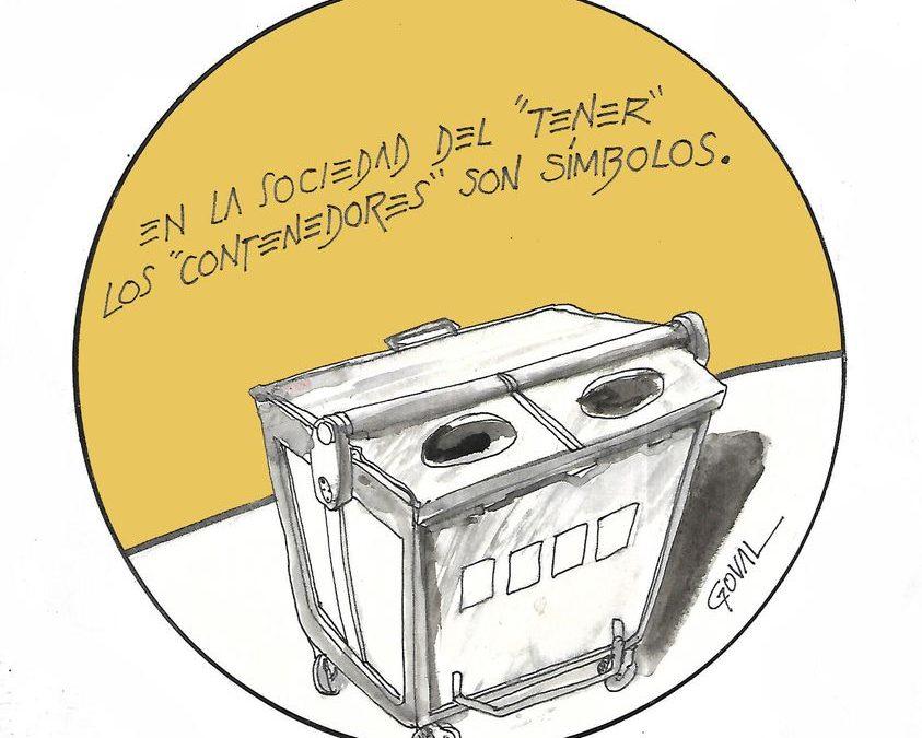 """La viñeta de Goval: """"los contenedores"""""""