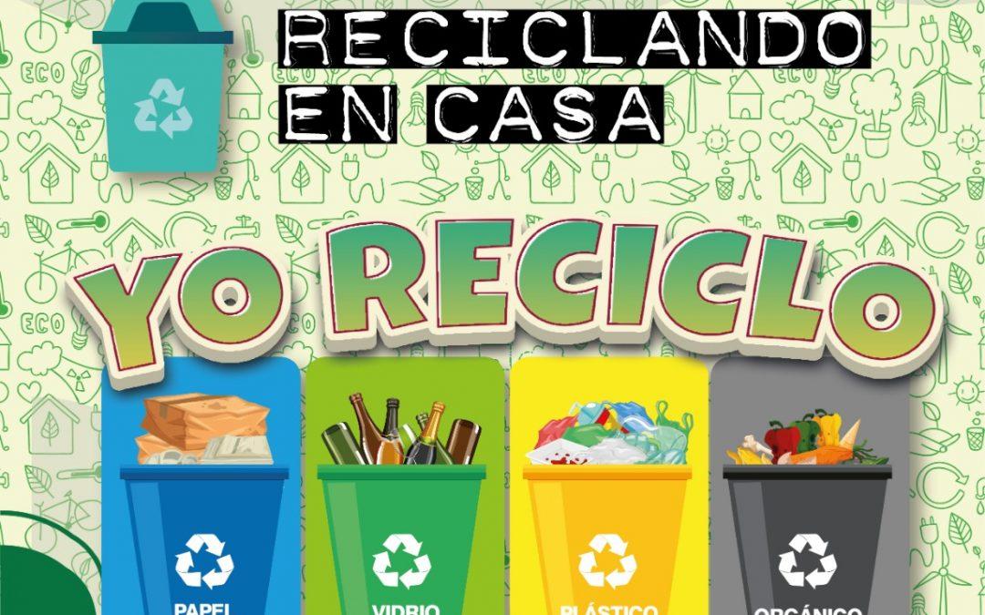 """CBE Ciudad Córdoba vuelve a las redes sociales con """"Reciclando en Casa"""""""
