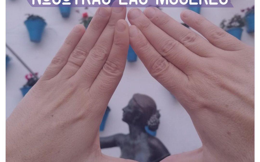 Concentración 8 marzo día internacional de las mujeres
