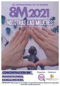 Concentración 8 marzo día internacional de las mujeres @ Plaza de las Tres Culturas