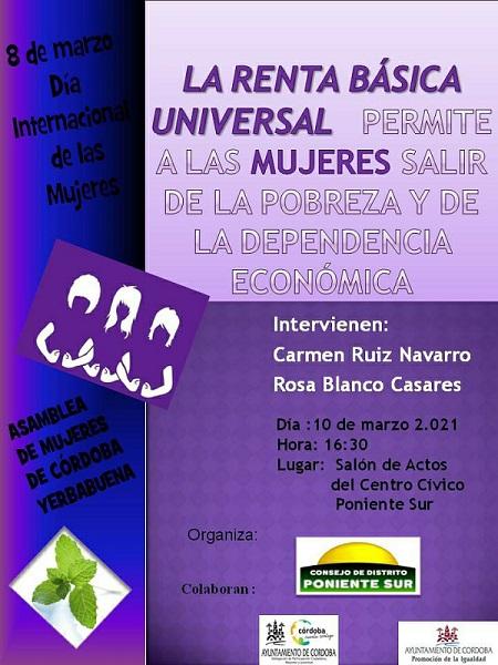 La Renta Básica Universal. Su influencia en las mujeres.