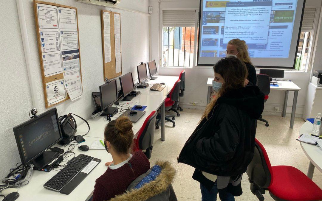 """Proyecto """"TIC para la inclusión sociolaboral"""""""