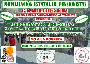 Concentración por las pensiones públicas en el Templete del Bulevar @ Templete Bulevar