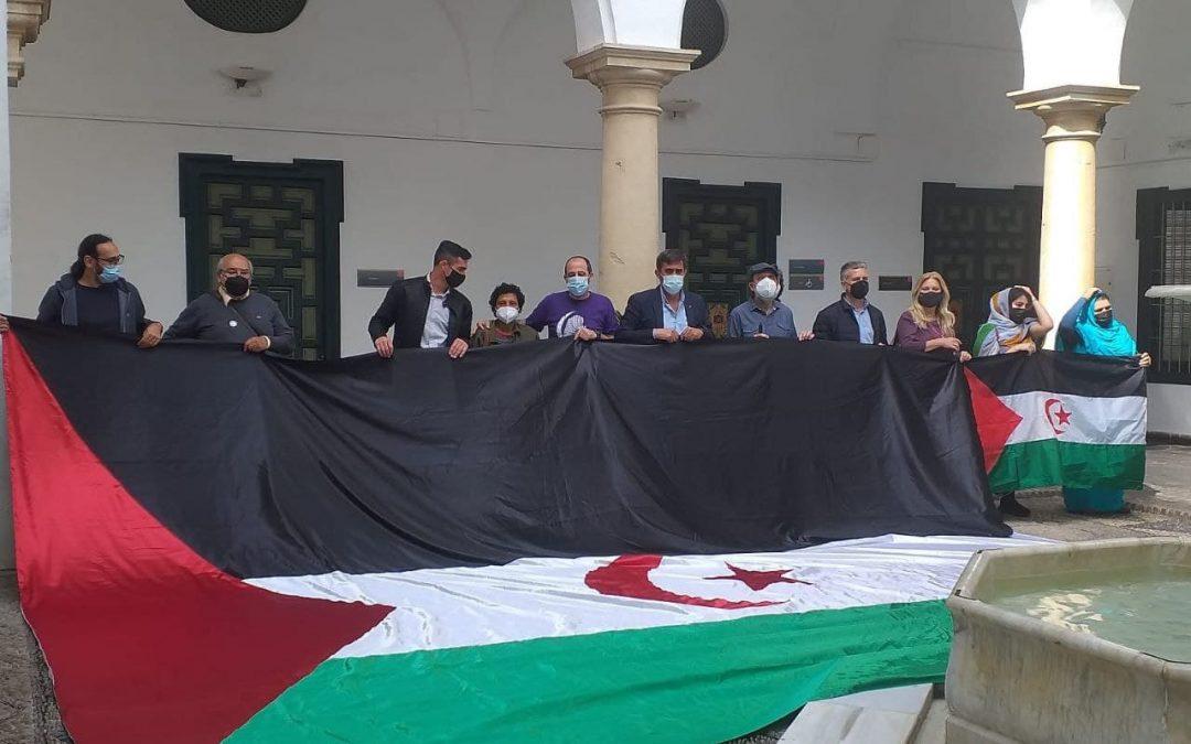 """Sebastián Moreno: """"En el tema del Sáhara, como en todos, el poder de presión lo tenemos los ciudadanos y ciudadanas"""""""