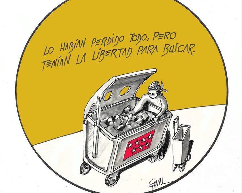 """La viñeta de Goval: """"la libertad"""""""